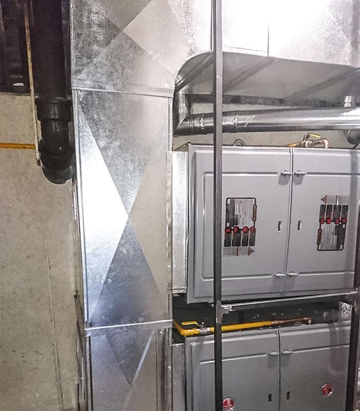 Calefacción central por ductos